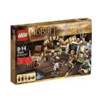 Lego Exclusive Hobbit Set Barrel Escape #79004