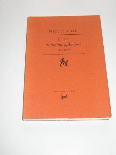crits autobiographiques 1856-1869