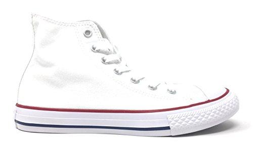 Converse Unisex-Kinder Chuck Taylor All Star 3J253C Hohe Sneaker, Weiß (White, 30 EU -