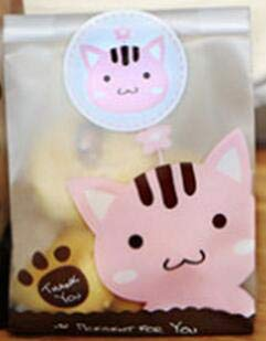 SMHILY Cute Hund Katze Cellophan Candy Cookie Geschenk Taschen Plastic Glassine Pouch Hochzeit Veranstaltung Partei liefert Geburtstag Weihnachten