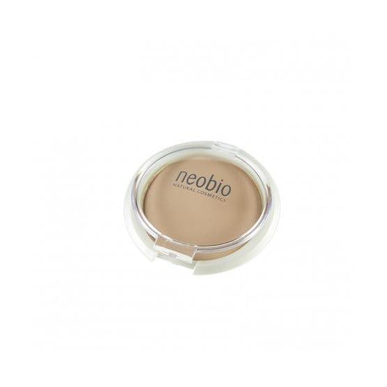 maquillaje en polvo Neobio beig