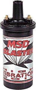 MSD 8222 Blaster Bobine d'allumage haute vibration Noir