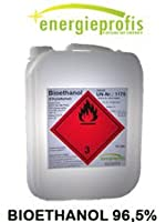 2 x 10 Liter HIGH QUALITY Bioethanol 96,5% Unser hochwertiges Bioethanol ist insbesondere für die Verwendung in Ethanol - Kaminen geeignet. Wir garantieren Ihnen einen Ethanolgehalt von 96,5% vol, sowie eine rußfreie, rückstandslose und geruchsneutra...