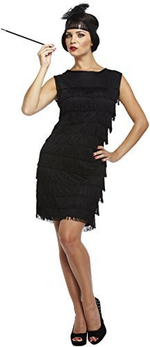 Women's Low Cost Flapper Dress with Headband - One Size