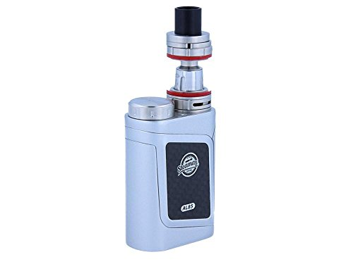 AL85 E-Zigaretten Kit - 85 Watt - inkl. TFV8 Baby Verdampfer mit 3 ml Tankvolumen von Steamax - Farbe: silber