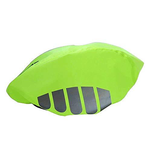 TOPIND – Fahrradhelm-Überzug aus Nylon, winddicht, staubdicht, Regenschutz für Rennräder, mit reflektierenden Streifen, Einheitsgröße