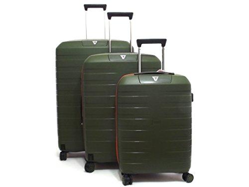 RONCATO - Juego de maletas Unisex adulto Verde Verde Large