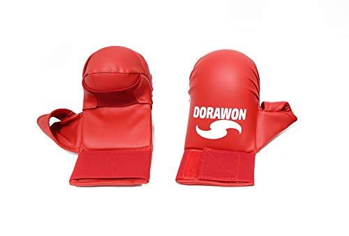 Dorawon, Guantes Karate Pulgar Osaka Talla S, Rojos