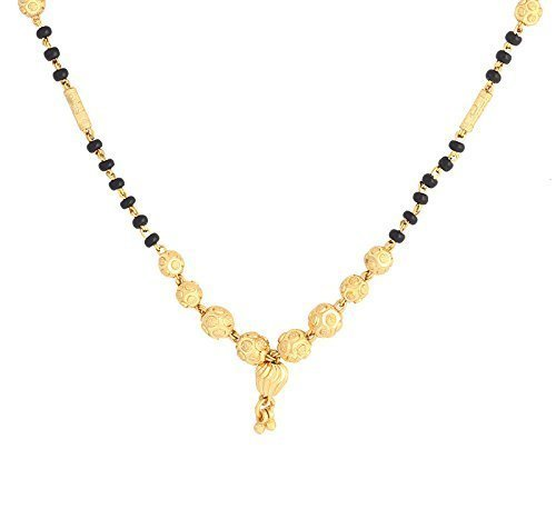 Youbella Jewellery Gold Plated Combo Of 3 Mangalsutra Pendant With Chain For Women