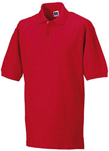Klassisches Piqué Poloshirt Classic Red
