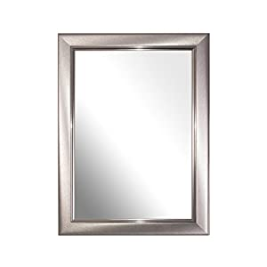 Mirror Frame, Brushed Small Pewter A4 Certificate, Pack of 2