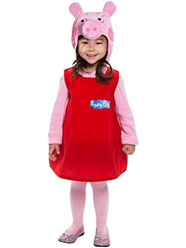 PALAMON Peppa Pig Toddler Costume Dress w/ Hood - 3-4T