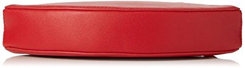 Lulu Guinness Da Donna labbra in pelle liscia a postino Rosso Rosso (Red)