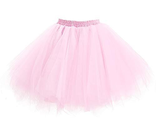 7df4f0acd SaveMoney.es. Facent girls tulle short tutu skirt underskirt petticoat dance  fancy dress pink ...