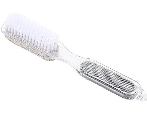 Fußfeile 4-In-1 Scrub Brush Callus Reducer Bimsstein Für Die Fußpflege -