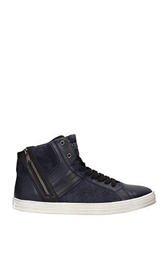 HXM1410R1911ZB9993 Hogan Sneakers Homme Chamois Bleu Bleu