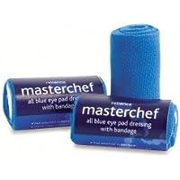 MasterChef Blue Eye Pad Dressing mit Verband, steril (rl2045) preisvergleich bei billige-tabletten.eu