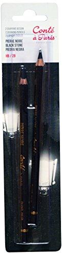 conte-a-paris-matite-da-disegno-pietra-nera-hb-e-2b-2-pezzi