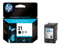 Preisvergleich Produktbild HP Druckpatrone Schwarz Tintenpatrone HP 21 21 Inkjet Print Cartridges,  vom 5 95% HR,  von 15 bis 35 °C,  15 – 35 °C,  5 95% HR,  131 x 37 x 141 mm,  0.06 kg (2880 Pfund)