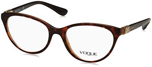 VOGUE Optical Frames Frame TOP HAVANA/BROWN WITH DEMO LENS