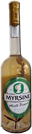 6 x 0.50 l - Liquore di mirto bianco prodotto dagli artigiani di Myrsine Liquori, a Dolianova - Sardegna.