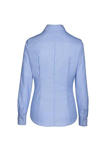 Seidensticker Schwarze Rose - Damen City Bluse 1/1-lang (60.080613) Blau(14)