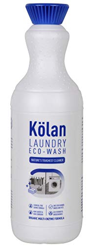Kolan Organic Biodegradable Laundry Clothing Detergent 700 ML - Ideal for Both Top and Front Load and also Hand Wash (Cleans and Freshens all Types of Fabrics)