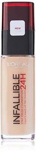 L'Oreal Paris Infallible 24H Foundation, 120 Vanilla, 30 ml