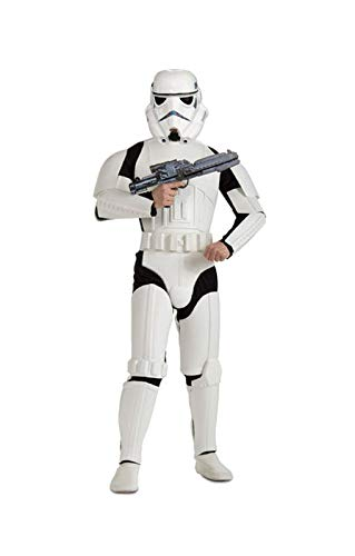 Horror-Shop Stormtrooper Deluxe Anzug (Trooper Storm Outfits)
