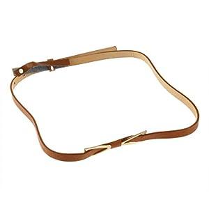 Formulaone Damen Mode Metall Bowknot Thin Bund