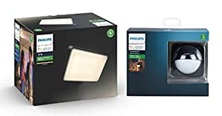 Philips Hue Welcome White LED Smart Outdoor Wall Light + Outdoor Motion Sensor Bundle. Works with Alexa, Google Assistant and Apple HomeKit (B07NXT2HZ1) | Amazon price tracker / tracking, Amazon price history charts, Amazon price watches, Amazon price drop alerts