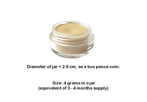 JTshop Superior Mineral Creamy Concealer - 4g - All Natural (YELLOW)