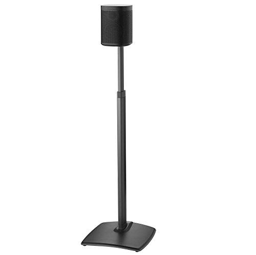 Sanus höhenverstellbar Kabelloser Lautsprecher Ständer für Sonos One Play: 1und Play: 3-schwarz
