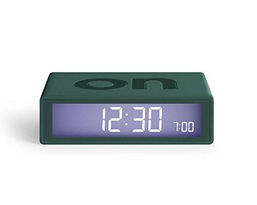 Lexon - REVEIL Flip Color - Reloj Despertador electroluminiscente de Doble Cara - Funciones táctiles...