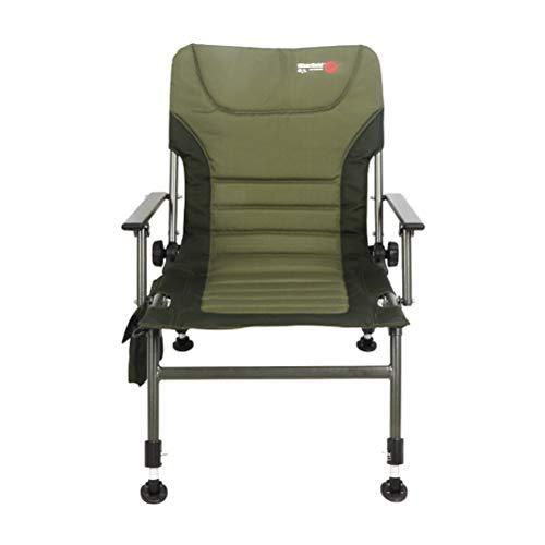 G-YL Fischerei-Stuhl, der tragbare kampierende europäische Luxuxverdickung im Freien lehnt mit Armlehnen All Terrain-Mehrzweck-Angelausrüstung -/1276