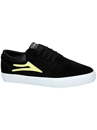 Herren Skateschuh Lakai Griffin Skateschuhe black yellow