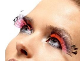feathered-pink-false-eyelashes-halloween-with-adhesive-by-walmart