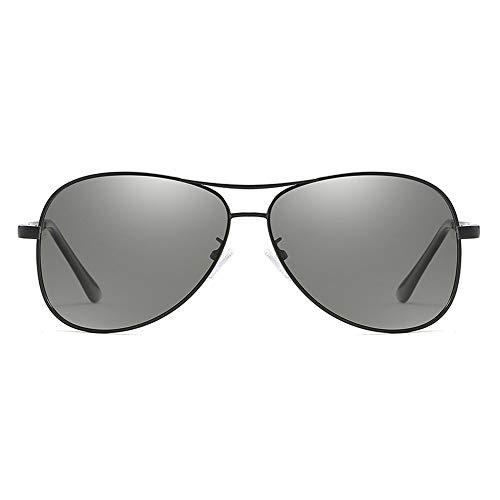 Happy Together Farbe ändern Polarisierte Lichtfarbe Sonnenbrille Metallfarbe Sonnenbrille Pilotverfärbung