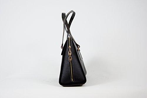 Tasche Damentasche Abendtasche Luxus Taymir Uni 2 Jahre Garantie versch. Farben Schwarz
