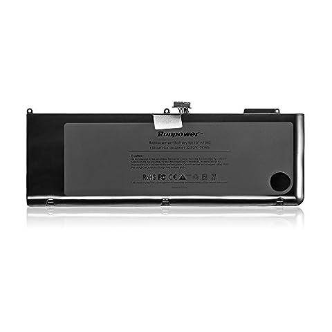 Runpower Nouveau Batterie ordinateur portable pour Apple A1382 A1286 (uniquement