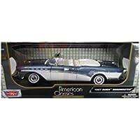 1957 Buick Roadmaster Blanco/Rojo Motor Max 73152