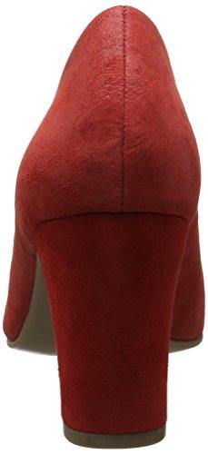 Caprice 22402, Scarpe con Tacco Donna Rosso (Red Suede)