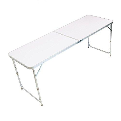 Oypla 4ft Pliante Cuisine Camping en Plein air Table de Travail Haut