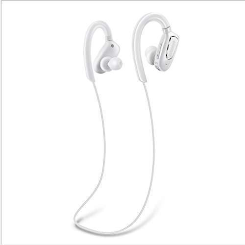 SMCZH Más vendidos Auriculares inalámbricos Bluetooth Mini impermeables Auriculares deportivos inalámbricos 4.1 Auriculares colgantes Auriculares biauriculares estéreo HD montados en el cuello (negro,