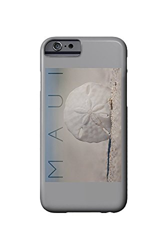 Maui - Sand Dollar on Beach (iPhone 6 Cell Phone Case, Slim Barely There)