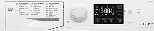 Bauknecht WM Pure 7G42 Waschmaschine Frontlader / A+++ -20% / 1400 UpM / 7 kg / Weiß / langlebiger Motor / Nachlegefunktion / Wasserschutz - 4