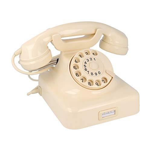Original Nostalgie Wählscheibentelefon W48 mit Drehscheibe kaufen, elfenbein