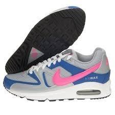 NikeAir Max Command, Laufschuh für Damen, grau - grigio(Light magenta/Hyper pink/Hyper cobalt) - Größe: 37,5
