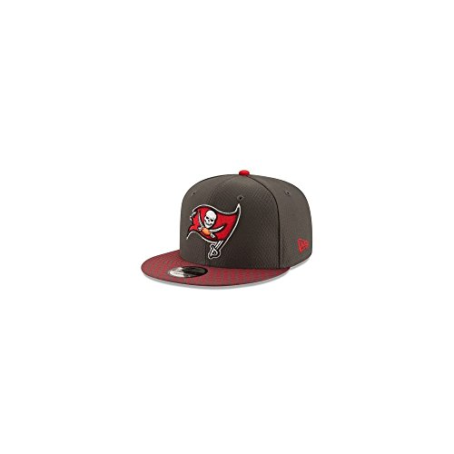 Nfl Buccaneers Shop (New Era - Tampa Bay Buccaneers - 9fifty Snapback - Nfl 17 Onfield - Grey - S-M (6 3/8 - 7 1/4))