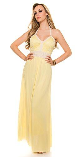 In-Stylefashion - Robe - Femme jaune jaune taille unique Jaune